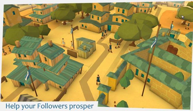 village avec maisons et population