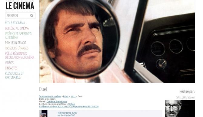 """Fiche d'analyse du film """"Duel"""" de Steven Spielberg"""