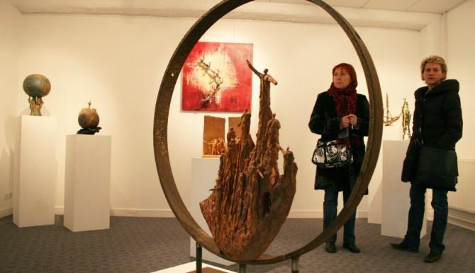 Saint-Erblon - exposition d'art contemporain