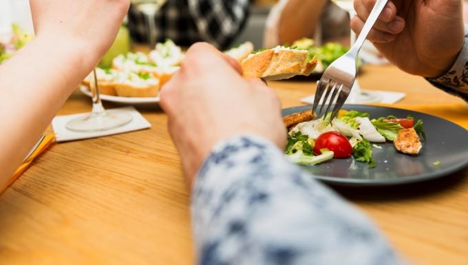 Photo d'un repas.