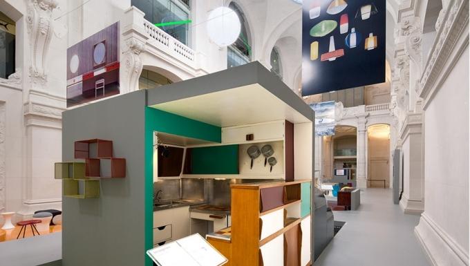 Cuisine-bar pour l'Unité d'Habitation de Marseille, Atelier Le Corbusier