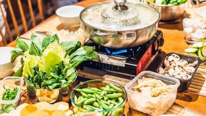 Photographie d'une préparation culinaire.