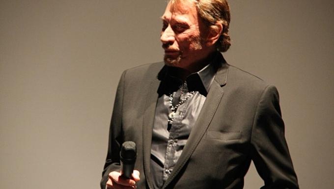 Johnny Halliday en 2009.