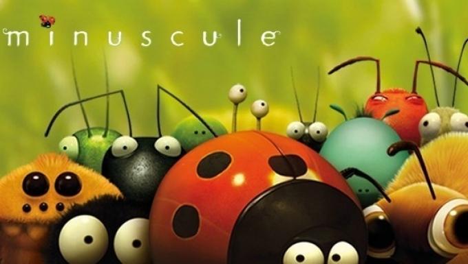 Coccinelle, abeille, fourmi et autres insectes en dessin d'animation