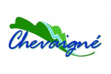 logo de la ville représentant de façon stylisée une feuille mais aussi une rivière.
