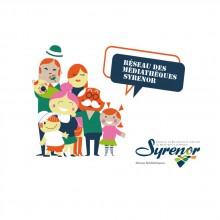 Logo du Réseau Syrenor : famille réunie