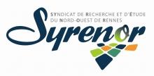 Logo du réseau agrémenté d'une série de rectangles de couleur