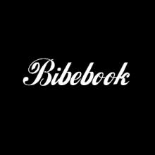 Logo Bibebook : lettres blanches dans cercle noir
