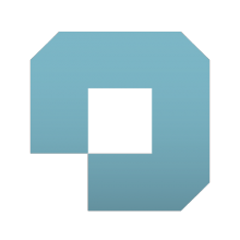 Logo OpenCulture : lettre stylisée bleue foncée sur fond blanc