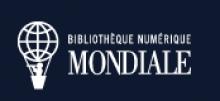 Logo BNM : Letters stylisées blanches sur fond bleu marine. A proximité, une montgolfière blanche constituée d'un planisphère.