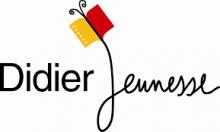 Logo Didier jeunesse : lettres stylisées noires sur fond blanc.