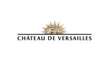 Logo Château de Versailles : letters stylisées noires sur fond blanc.