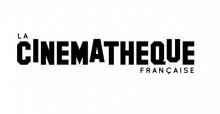 Logo Cinémathèque française : lettres stylisées noires sur fond blanc.
