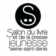 Logo du Salon du livre et de la jeunesse : lettres stylisées noires sur fond blanc.