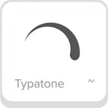 Virgule grise sur fond blanc (format d'une touche de clavier).