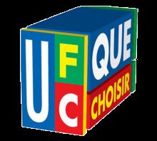 Vue 3D d'un rectangle coloré. Lettres stylisées de couleur jaune et blanche sur fonds de couleurs (bleu, vert, rouge).