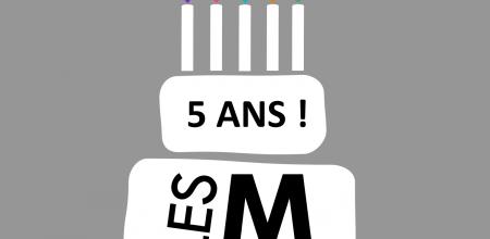 Illustration d'un gâteau d'anniversaire avec des bougies.