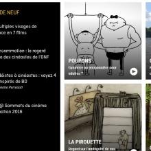 Page d'accueil du site de l'ONF