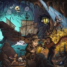 Illustration contenant des références pop-culture.